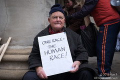 March Against Racism - 17th March 2018 (The Weekly Bull) Tags: afrin antisemitism brucekent cnd downingstreet immigrants islamophobia kurds portlandplace standuptoracism unantiracismday westminster whitehall demo demonstration migrants politics protest racism refugees xenophobia