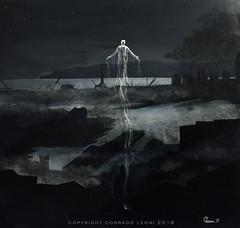 XV  III  MMXVII  - When a soul leaves the city (LeoniArt) Tags: soul anima sky cielo citta city genova genoa