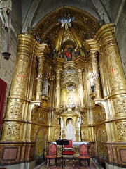 Sangüesa altar mayor interior Iglesia de Santiago Navarra 08 (Rafael Gomez - http://micamara.es) Tags: altar mayor interior iglesia de santiago navarra el sanguesa sangüesa