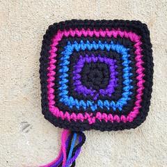 20180320_170625 (crochetbug13) Tags: crochetbug crochet crocheted crocheting crochetsquare cementmark