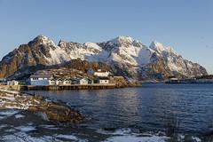A beautiful morning (Patrick Carpreau) Tags: henningsvær lofoten noorwegen norway photoshopcc2018 morning canon europe scenic landscape 5dsr