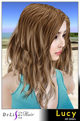 DrLifeGen3Hair Lucy (DrLifeGen3Hair SecondLife) Tags: secondlife sl drlifegen3hair drlifegen3 drlife hair flexi slhairstyle