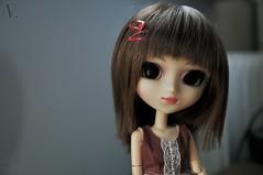 miyoung (uglycherries) Tags: pullip doll dolls princess ann roman holiday obitsu obitsued rewigged wig brown mirror