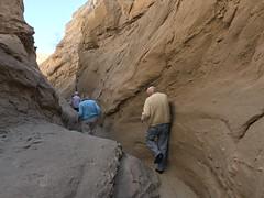 South Fork Palm Wash slot canyon