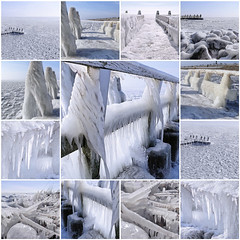 Remember the unpredicted winter of 2018 (B℮n) Tags: fdsflickrtoys vlietermonument afsluitdijk breezanddijk winter ijs ice frozen sea ijsselmeer waddenzee aanmeerplaats beijsd bevroren brugdijk hekhekwerk kou koud koude loopvlonder meer meerpaal meerpalen monument ochtend ochtendkou paal palen stilvlonder vriest vriezen zonsopgang cold morning holland netherlands pier noord layer icing icicles 2march2018 2 maart 2018 artic icesculptures sculptures nature standbeeld drir cornelislely statue zuiderzee topf50 faves50 100faves topf100