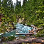 Agnes Creek and the Mid Point of a Hike (North Cascades National Park Service Complex) thumbnail