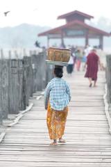 Myanmar-20180322-0649 (ShaneAndRobbie) Tags: amarapura mandalayregion myanmarburma mm myanmar burma mandalay ubein bridge sunrise favourite