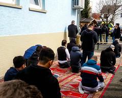 After a Friday Prayer (A. Yousuf Kurniawan) Tags: prayer praying pray muslim islam mosque colourstreetphotography cameraphone cameraphonestreet phonestreet red streetphotography urbanlife activity dailylife decisivemoment
