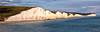 Seven Sisters panorama (johnlauper) Tags: sevensisters cliffs eastsussex landscape panorama belletout englishchannel sea coast beach
