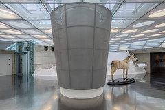 It's not only about the cars... (USpecks_Photography) Tags: mercedesbenzmuseum unstudio mercedes horse museum stuttgart neckarsulm cars symmetry