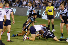 Sharks v Roosters Round 5 2018_033.jpg (alzak) Tags: 2018 chooks cronulla eastern easts league nrl national roosters rugby sharks suburbs action sport sportssydneyaustralia
