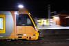 Waratah A39 arriving at Penrith (Photography Perspectiv) Tags: train railway penrith railroad waratah aset passeng passenger emu night light blur