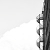 Every solitary step becomes your companion (Peterix) Tags: blackwhite bw stairs sprialstairs building architecture minimalistic