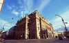 keep on talking about the national theater (Aspa Tz) Tags: prague city street light winter sun architecture travel czech republic europe analogue film praktika fuji velvia