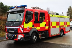 NA66 NZJ (Ben - NorthEast Photographer) Tags: cddfrs county durham darlington fire rescue service 2016 volvo d03 d03p1 ladder 1 seaham training exercise tc na66 na66nzj