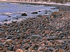 Am Binzer Steinstrand (lt_paris) Tags: urlaubinbinz2018 rügen meer ostsee steinstrand binz steine