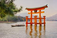 The great torii (Maskun Ramli) Tags: thegreattorii torii itsukushima itsukushimashrine miyajima miyajimaisland landscape landscapephotography landscapelovers landscapehunters waterscape waterscapephotography travelphotography travel travelling traveller samsung samsungnx500 samsungnx