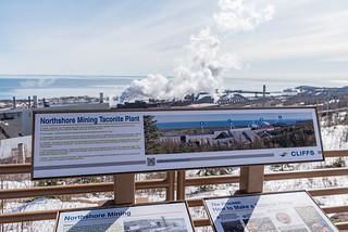 Cliffs Northshore Mining Taconite Plant Viewpoint, Silver Bay, Minnesota