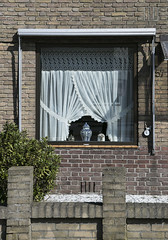 Utrecht, March 2018 (ClioBrio) Tags: utrecht march season city cities sunny day pic window through curtains netherlands street photography travel urban architecture