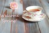 Welcome Spring! (Giovanna-la cuoca eclettica) Tags: stagioni stilllife colors pink wood vintage cup teacup