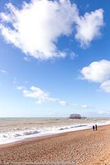 The remains of the West Pier, Brighton *1* (Zoë Power) Tags: westpier beach uk brighton derelict blueskies coast sea seaside