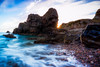 Missed Opportunity (Augmented Reality Images (Getty Contributor)) Tags: portknockie longexposure coastline sunrise water scotland landscape nisifilters waves morning morayfirth canon clouds seascape rocks unitedkingdom gb