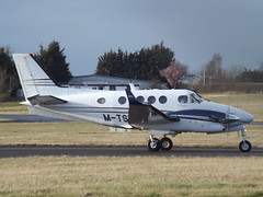 M-TSRI Raytheon King Air C90GT Timpson Shoe Repairs (Aircaft @ Gloucestershire Airport By James) Tags: gloucestershire airport mtsri raytheon king air c90gt timpson shoe repairs egbj james lloyds