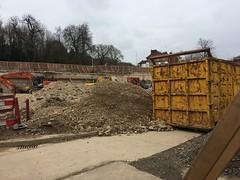 Skip (My photos live here) Tags: royal tunbridge wells kent england union house place demolition building skip pantiles office rubble