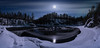 River Kitkajoki in moonlight (M.T.L Photography) Tags: riverkitkajokiinmoonlight moon sky trees river mountain night water mtlphotography mikkoleinonencom kuusamo finland lapland clouds winter winterwonderland juuma panoramicphotography