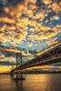 Buttered Popcorn (Menx Cuizon) Tags: baybridge sunset yerbabuena california sanfrancisco bridge clouds