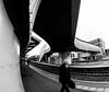 Train station (Mike Thorn) Tags: fisheye trainstation newport people phone