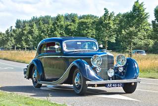 Bentley 3.5 LITRE J. Gurney Nutting Coupé 1936 (3431)