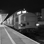 Journey's end (almost): Easter Chieftain railtour at Cardiff Central thumbnail