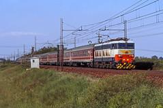 FS E656 428 (maurizio messa) Tags: lombardia mau bahn ferrovia treni trains railway railroad yashicafxd e656 caimano