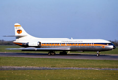 Transeuropa Caravelle (Martyn Cartledge / www.aspphotography.net) Tags: aerodrome aeroplane air aircraft airline airliner airplane airport aspphotography aviation caravelle cartledge civilairline civilairliner ecbry flight fly flying jet martyn plane runway scan transeuropa transport wwwaspphotographynet uk asp photography