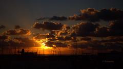 Marina Rubicon (petra.foto busy busy busy) Tags: sonnenuntergang marinarubicon playablanca lanzarote wolken himmel holiday fotopetra canon hafen schiffe