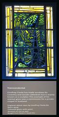 The Victoria and Albert Museum - Stained Glass Windows - Transcendental (Padski1945) Tags: theva thevictoriaandalbertmuseum victoriaandalbertmuseum vamuseum cromwellroad kengsington southkensington london sw72lr britishmuseums londonmuseums museumsofengland museumsofbritain museumsofgreatbritain museumsoflondon glasspanel contemporaryglass transcendental geoffreyclarke museumref411970
