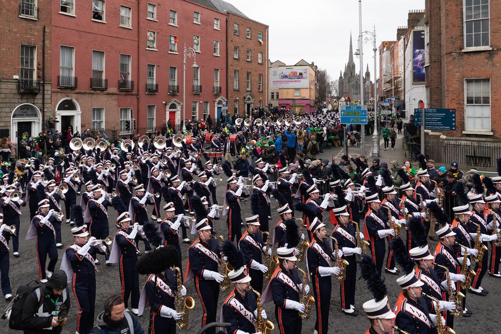 DUBLIN SAINT PATRICKS PARADE 2018 [THE MARCHING ILLINI]-137406