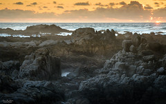 Ocean View Sunset (59roadking - Jim Johnston) Tags: ifttt 500px horizon over water coastline seascape sunset beach wave dramatic sky sea rocks rocky shore shoreline