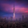 Burj Khalifa Launchpad (albert dros) Tags: albertdros burjkhalifa dubai travel use middleeast rocket sunrise sunset skyscrapers cityscape city