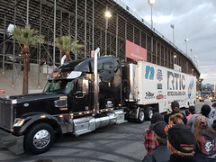 NASCAR Hauler Parade at Auto Club Speedway, March 15, 2018 (cjacobs53) Tags: nascar auto club speedway autoclubspeedway fontana race car speed fast lane california californiaspeedway san bernardino county sanbernardinocounty hauler truck trailer rtic whitt colewhitt cole monster energy monsterenergy mencs cup series monsterenergynascarcupseries