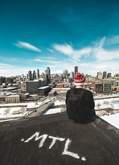 MTL (Frédéric T. Leblanc) Tags: mtl montréal quebec canada moment create capture sky cloud clouds blue blueness crative cinema cinematic city urban urbex roof rooftopping rooftop rooftopper montreal teen teenager canon 5d mkiii markiii mk3 mark3 silo5 silo