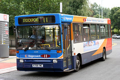 32358 R708 YWC (Cumberland Patriot) Tags: stagecoach greater manchester south buses north west england dennis dart plaxton pointer bus derv diesel engine road vehicle public transport