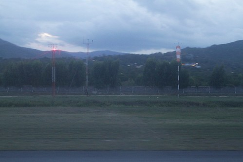 Windsock and weather station at Samui Airport