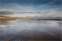 Llanddwyn Big Sky (JayTeaUK) Tags: anglesey wales beach llanddwynbay bigsky reflection tidal