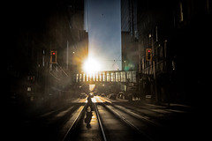 Between (A Great Capture) Tags: darkness silhouette silueta streetphotography streetscape photography streetphoto street calle vibrant colorful cheerful vivid bright outdoor outdoors eos digital dslr lens canon sunset atardecer cityscape urbanscape light sun sunny sunshine sunlight rebel t5i efs1018mm 10mm wideangle city downtown lights urban shadow shadows agreatcapture agc wwwagreatcapturecom adjm ash2276 ashleylduffus ald mobilejay jamesmitchell toronto on ontario canada canadian photographer northamerica torontoexplore winter l'hiver 2018