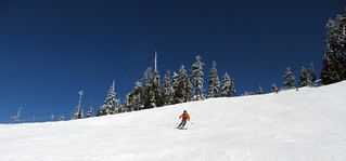 Cypress ski day & Simon's birthday..