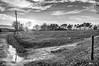 Crépuscule, Dusk (laurent.smet) Tags: couchédesoleil paysage landscape sunset bw nb nuages clouds dordogne