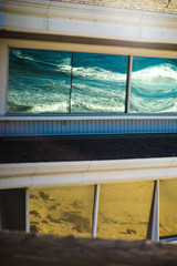 Reflection (yosukesugimoto) Tags: la losangeles beach building newport newportbeach reflect reflection positive snap oldlens 135mm pentax tacmar