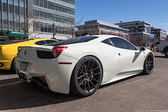Sick Wheels (Hunter J. G. Frim Photography) Tags: supercar colorado ferrari 458 italia white italian coupe ferrari458 ferrari458italia